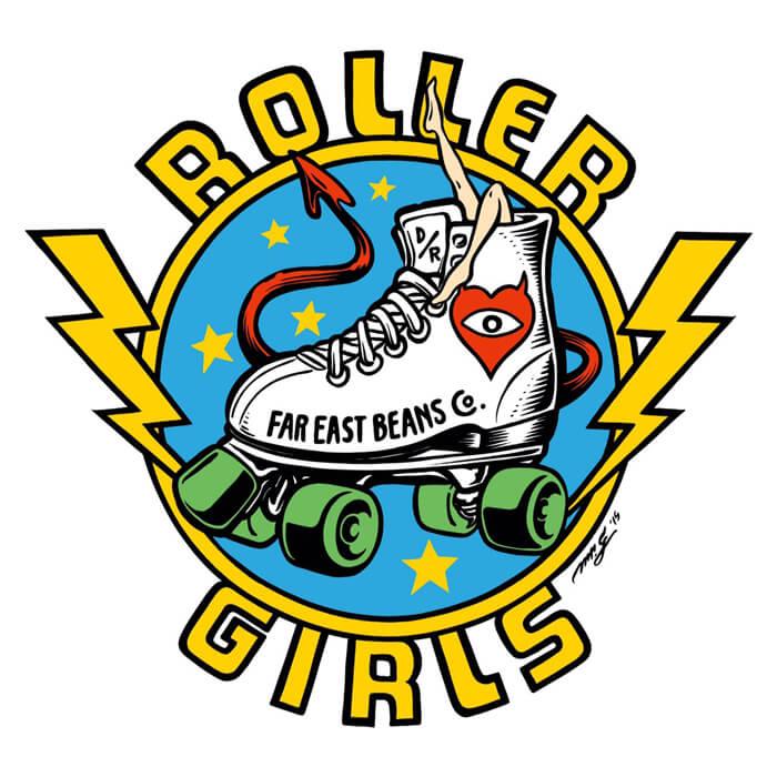 RollerGirlsステッカー