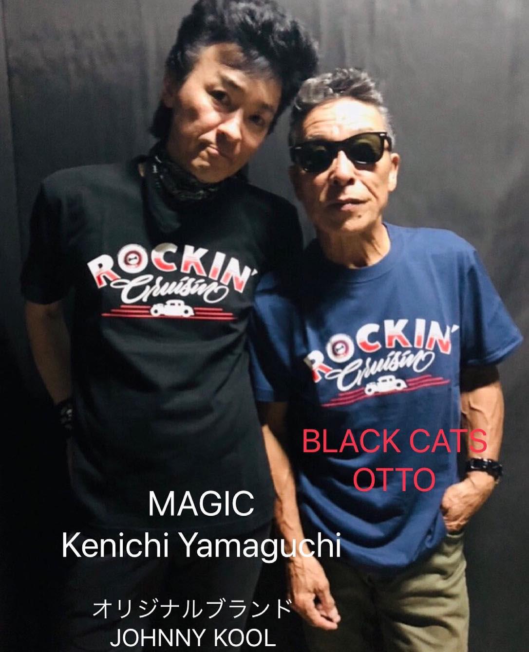 BLACK CATS OTTOさん・MAGIC山口 憲一